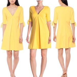 BAILEY Ponte SUNNY Yellow Dress